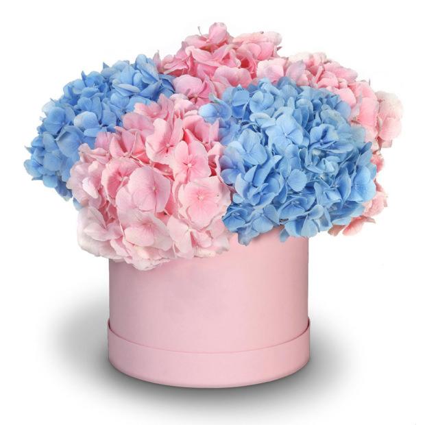 """Цветы в коробке """"Цветочный бульвар"""""""